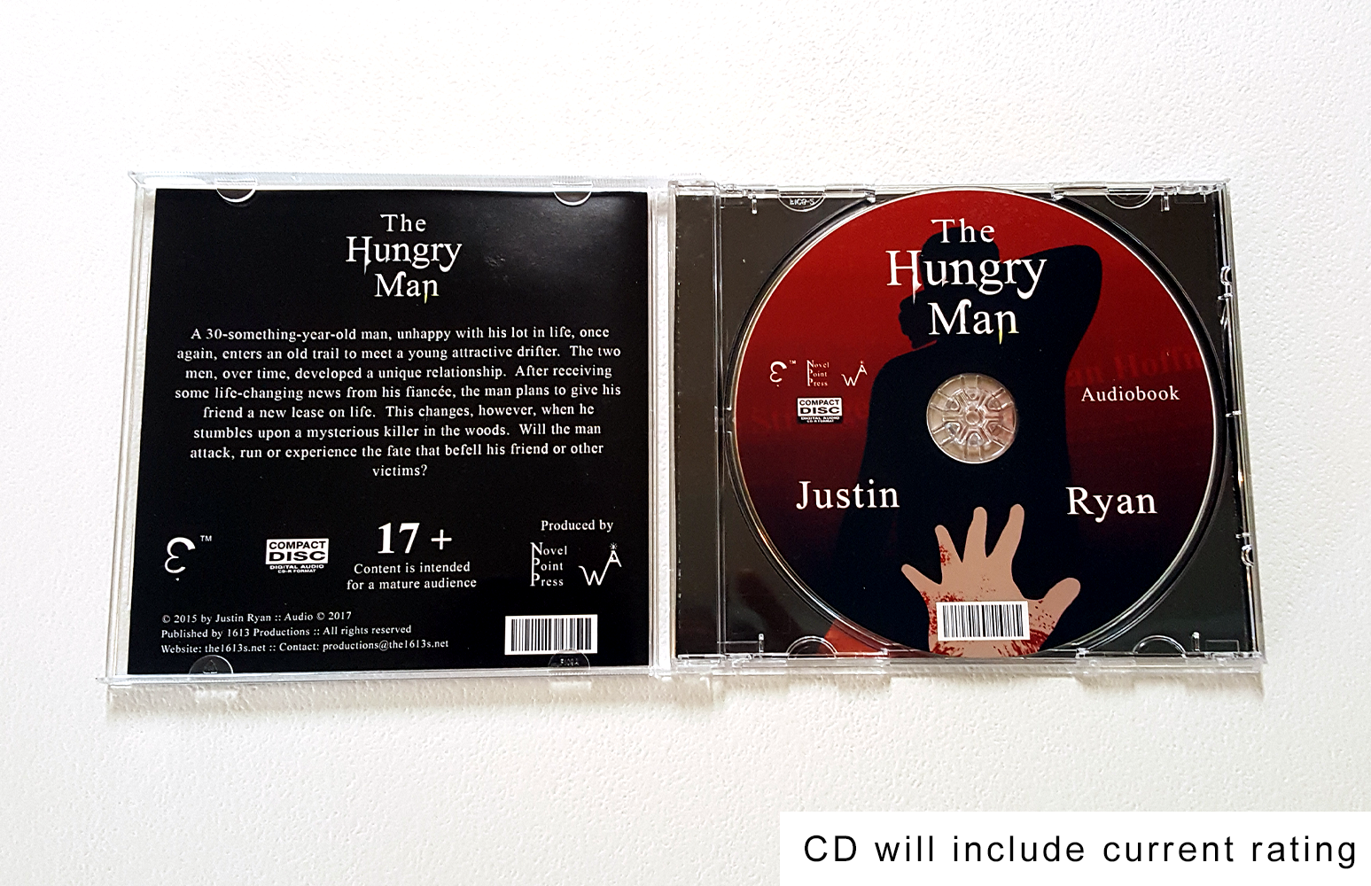 The Hungry Man (Audiobook CD) (image 4)